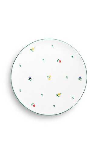 Alpine Flowers, Set Of 6 Charger Plates