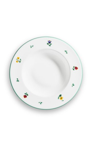 Alpine Flowers, Set Of 6 Soup Plates