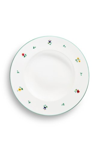 Alpine Flowers, Set Of 6 Pasta Plates