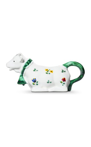 Alpine Flowers, Milk Creamer Cow