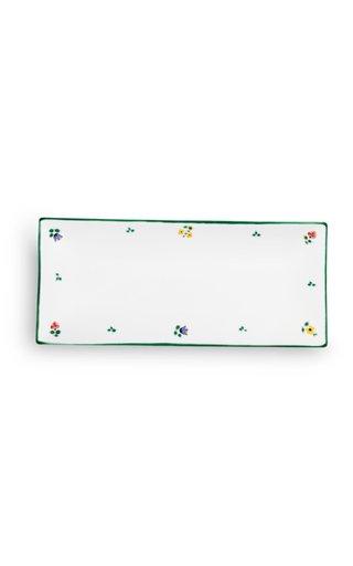 Alpine Flowers, Rectangular Platter