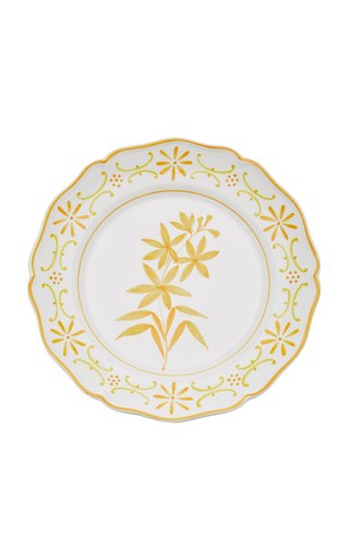 Il Fiore by Moda Domus, Set-Of-Two Hand-painted Ceramic Dessert Plates