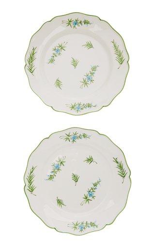 Primavera, Set of 2 Ceramic Dessert Plates