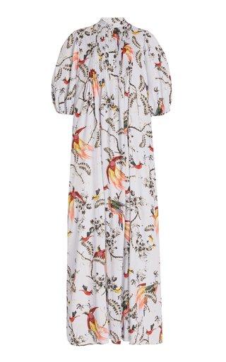 Mustique Printed Cotton Maxi Dress