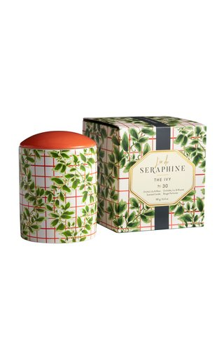 The Ivy Large Ceramic Candle