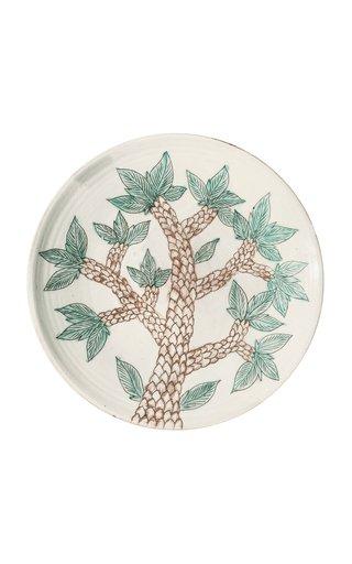 Greenscape Ceramic Platter