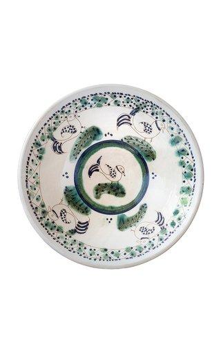 Birds On Tour Ceramic Plate