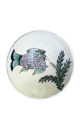 Fish Feeding Ceramic Bowl
