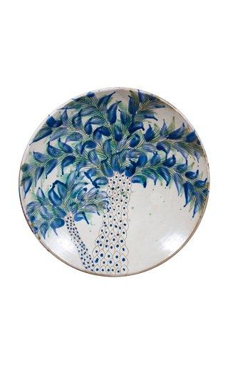 Fayoum Palm Trees Ceramic Platter