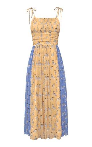 Rory Dalmatian Print Maxi Dress
