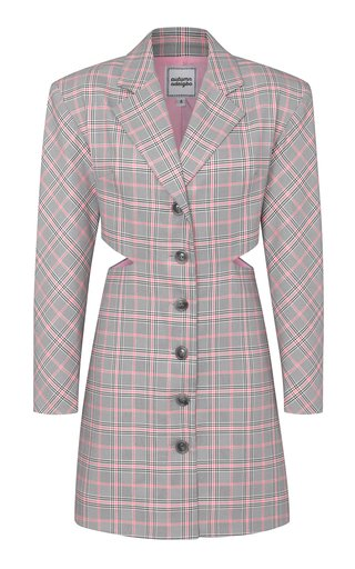 Kitty Plaid Blazer Dress