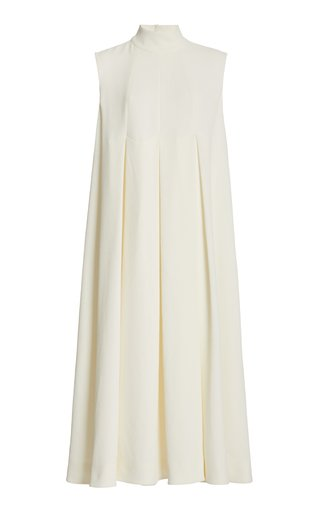 Chanty Double Crepe Midi Dress