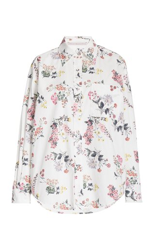 Bayleigh Floral-Print Organic Cotton Top