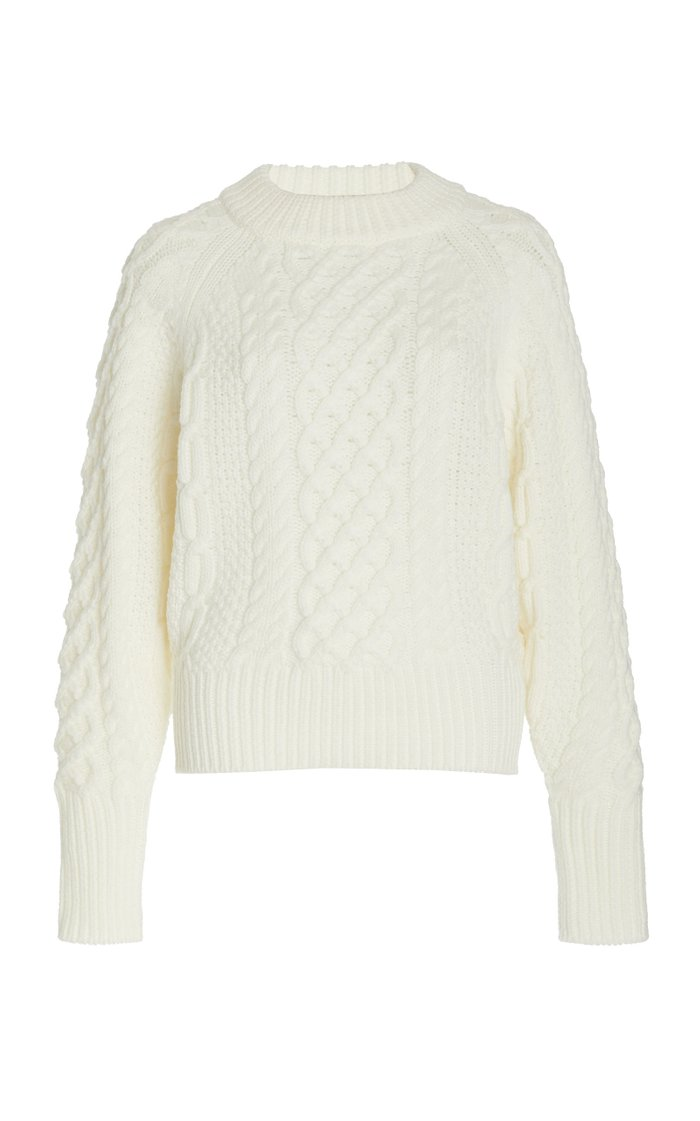 Emory Mohair Wool Knit Sweater
