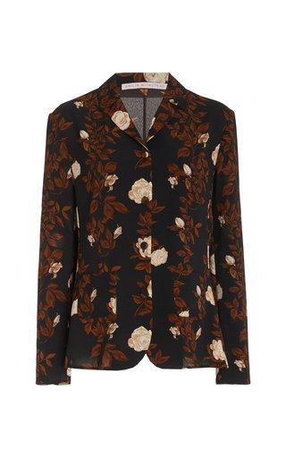 Maurice Floral Crepe Georgette Jacket