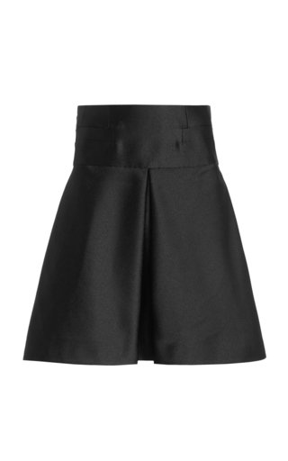 Tia Pleated A-Line Skirt