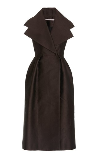 Anja Wide-Collar Dress