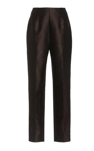 Marcel Crepe Straight-Leg Pants