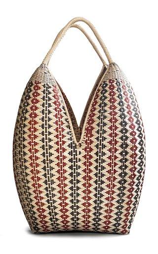 Large Woven Palm Basket