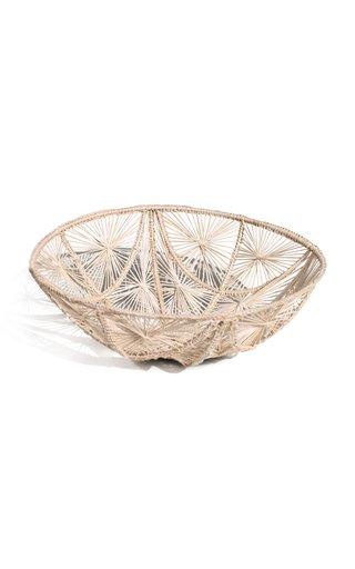 Carmen Medium Woven Palm Bowl