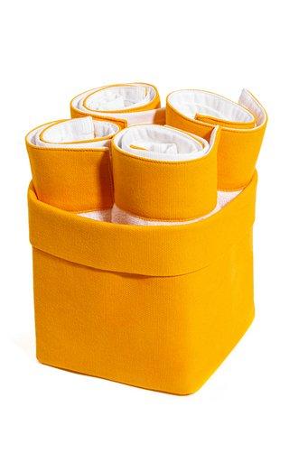 Set-Of-4 Cotton Washcloth Bundle