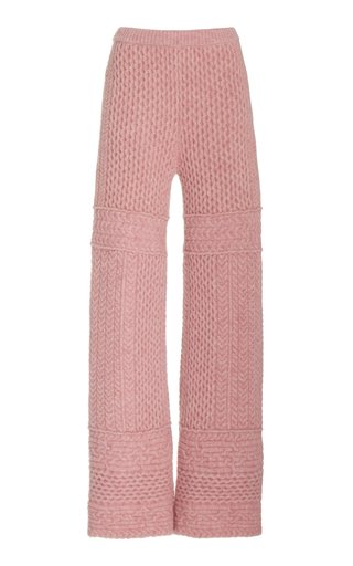 Fina Cable Knit Pants
