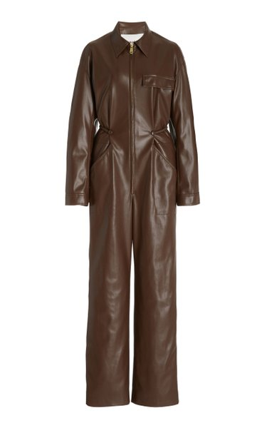 Zac Workwear Boilersuit With Ruched Belt