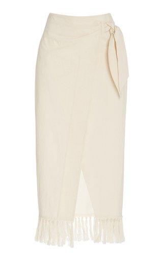 Randi Organic Cotton Wrap Skirt