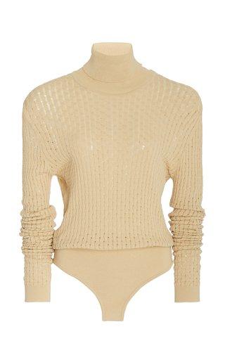 Peri Turtleneck Knit Bodysuit