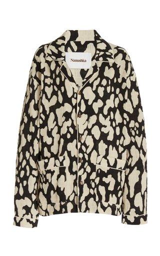 Tria Pajama Style Oversized Shirt
