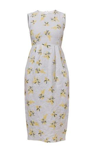 Franca Jacquard Cotton Dress