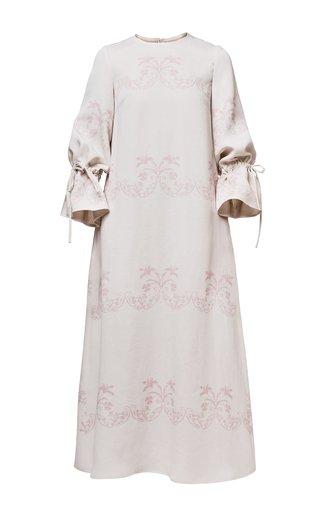 Diana Printed Crepe Dress
