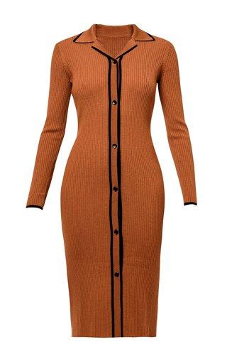 Gillian Longline Wool Cardigan Dress