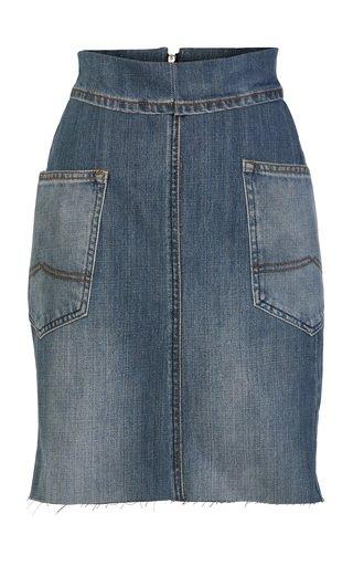 Study Mini Denim Skirt