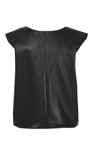 Reversable Leather Top