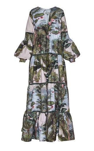 Leticia Printed Cotton Maxi Dress