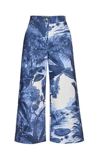 Triton Cropped Cotton Pants
