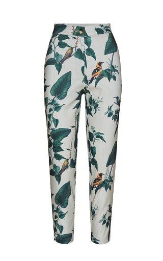 Allium Printed Crepe Pants