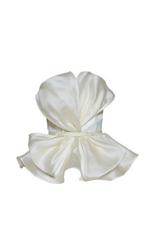 Hamaca Bow-Detail Silk Top