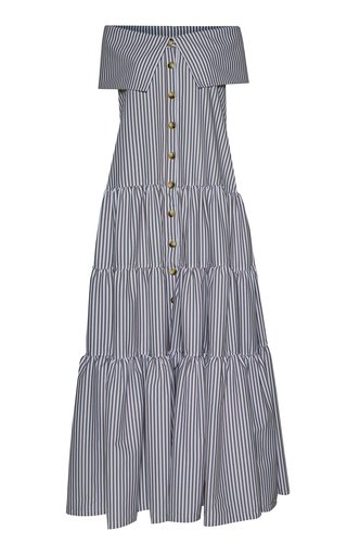 Totora Tiered Cotton Maxi Dress