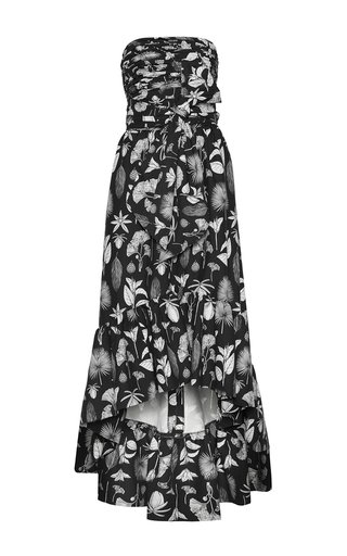 Botanica Printed Cotton Midi Dress
