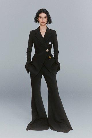 Textured Suiting Blazer