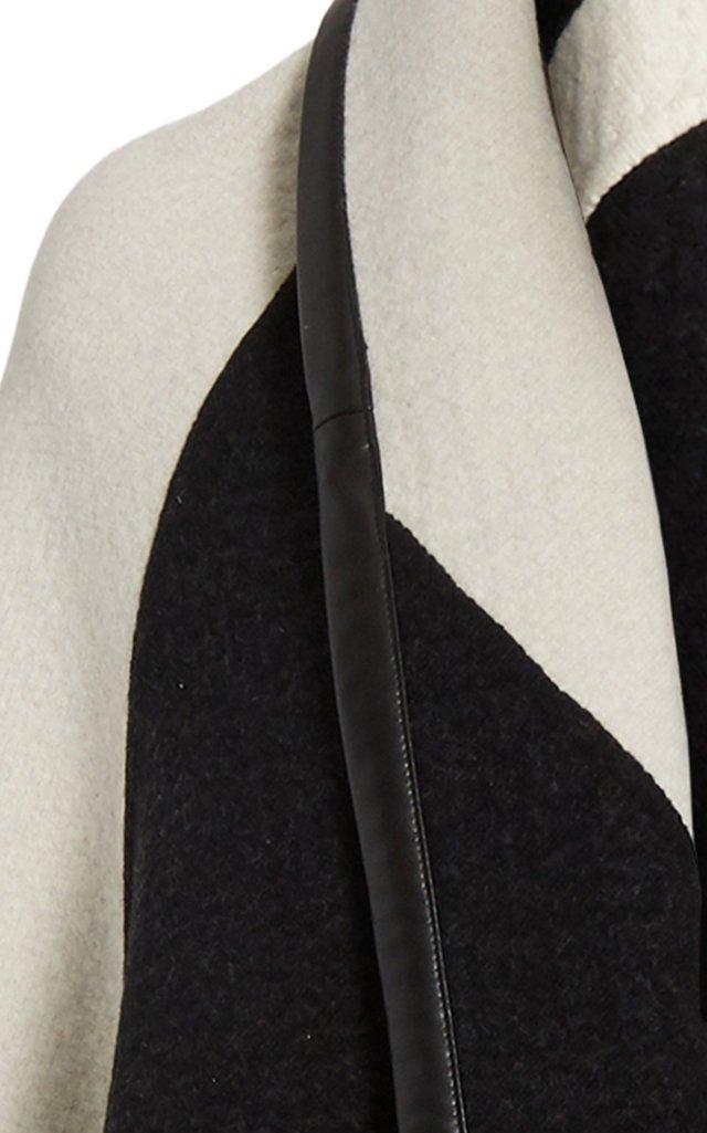 Color-Blocked Cashmere Blanket