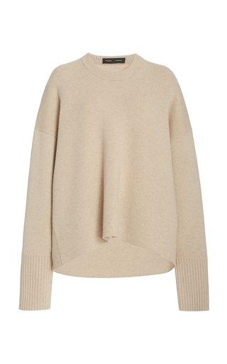 Oversized Eco-Cashmere Sweater