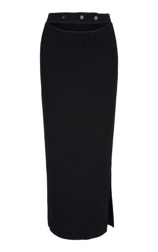 Maggie Cutout Knit Midi Skirt