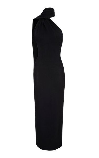 Electra Low-Back Jersey Maxi Dress
