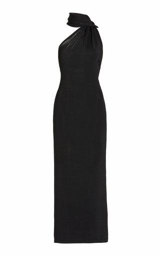 Electra Low-Back Jersey Maxi Dress