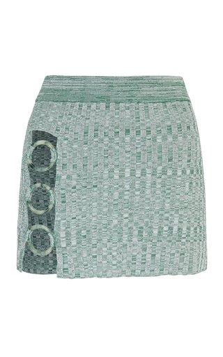 Flint Knit Mini Skirt