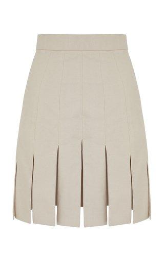 Larimar Cotton Mini Skirt