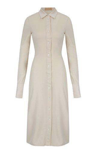 Quartz Georgette Shirt Dress